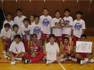 Landen Lucas (second from left on bottom row) grew from 5 feet 4 to 6 feet tall during his sixth-grade year, which was spent in Japan.