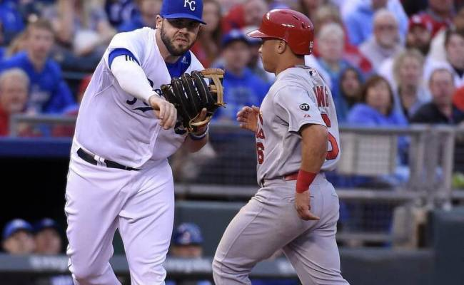Royals Top Cardinals 5 0 To Claim Best Record In