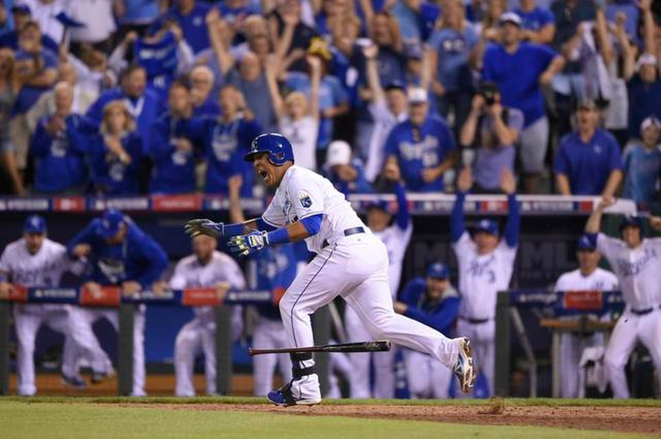 Image result for 2014 wild card game colon steals second