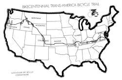 Kansas TransAmerica Bicycle Trail Guide
