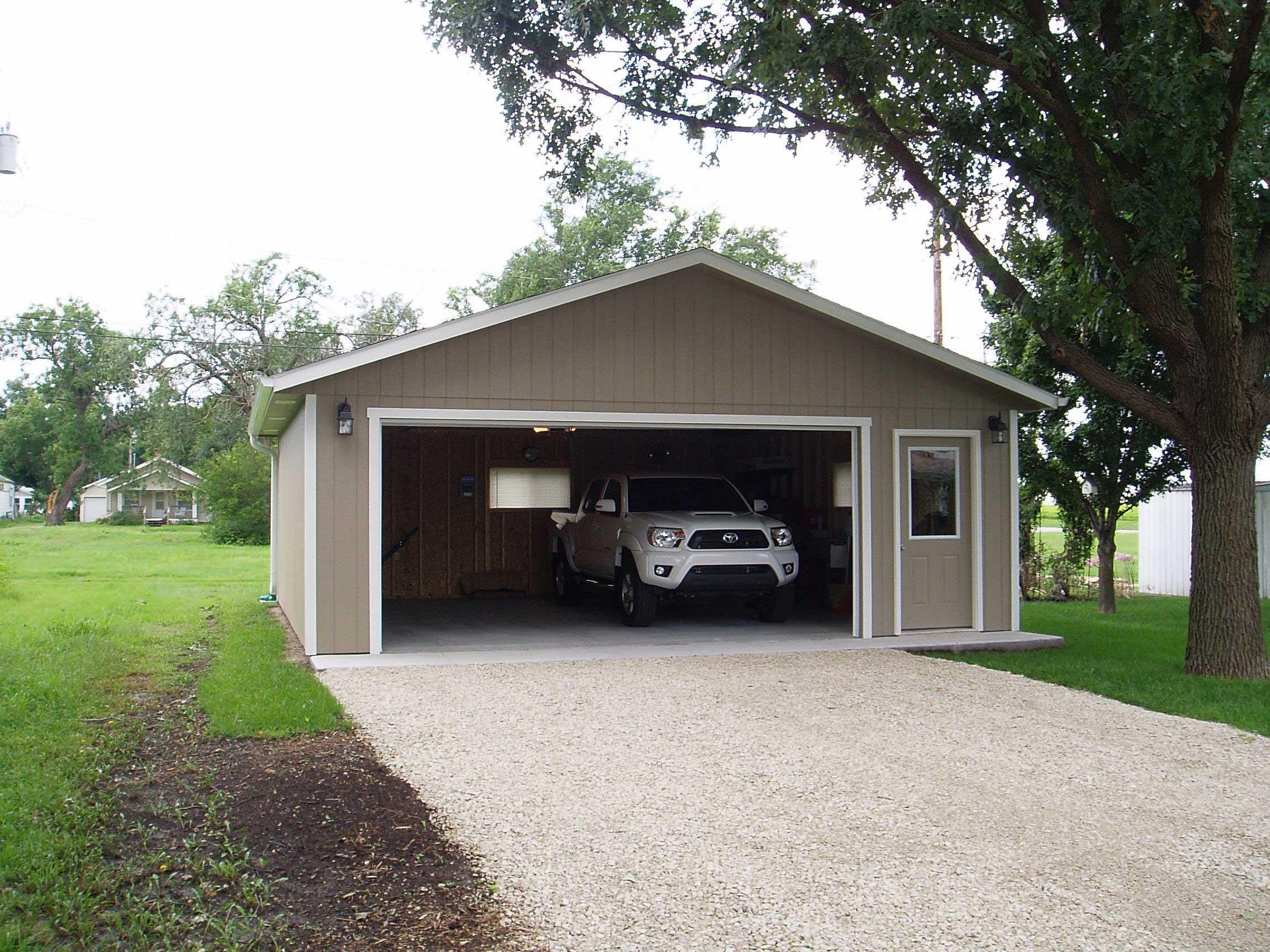 Prefab And Detached Car Garages For Sale In KS