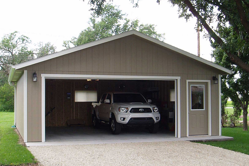 Panel Sided Garage For Sale In Mcpherson Ks Kansas