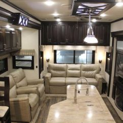 Free Standing Cabinets For Kitchen Cost Of A Remodel Meet The High End Fifth Wheels: Lifestyle Luxury ...