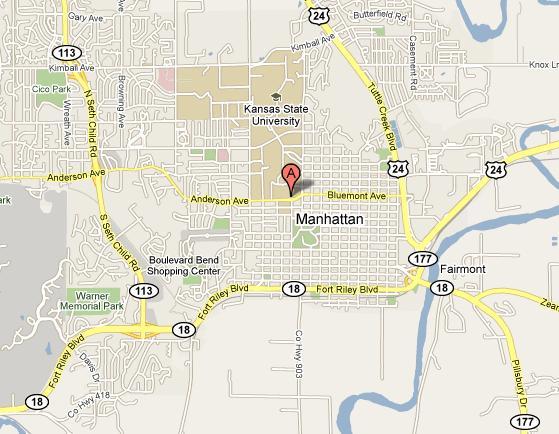 Map Printable Manhattan