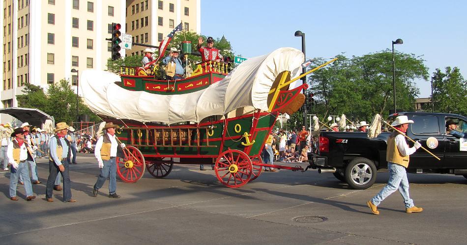 Wichita River Festival Sundown Parade