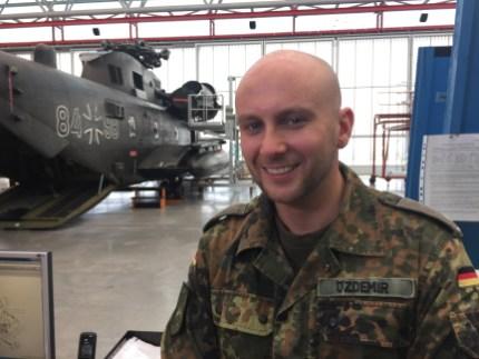 Lt. Cemal Özdemir - ein deutscher Soldat
