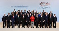 G20ハンブルク・サミット(ドイツ連邦共和国)の様子(2017年7月)1
