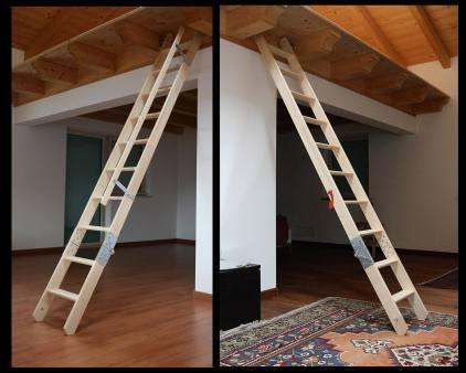 Dachtreppe Sondermodell Ligna2 ohne Stock und Luke