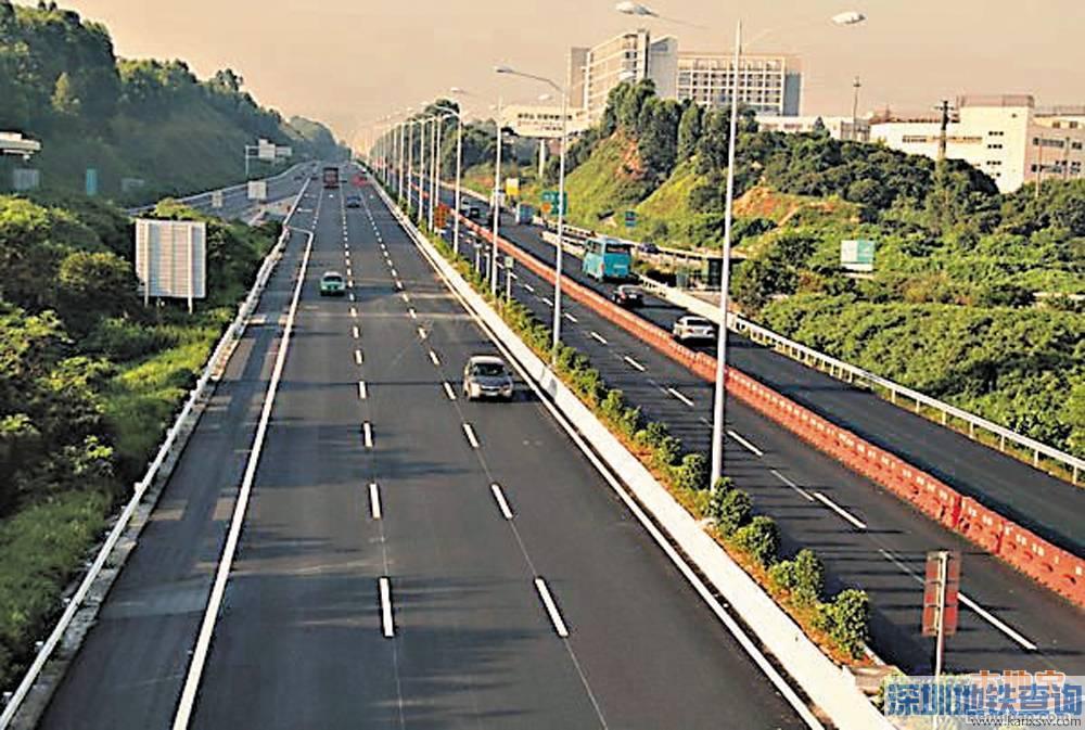 深圳東部過境高速或將免費? 盤點深圳政府這些年收回的高速公路(2) - 地鐵查詢網