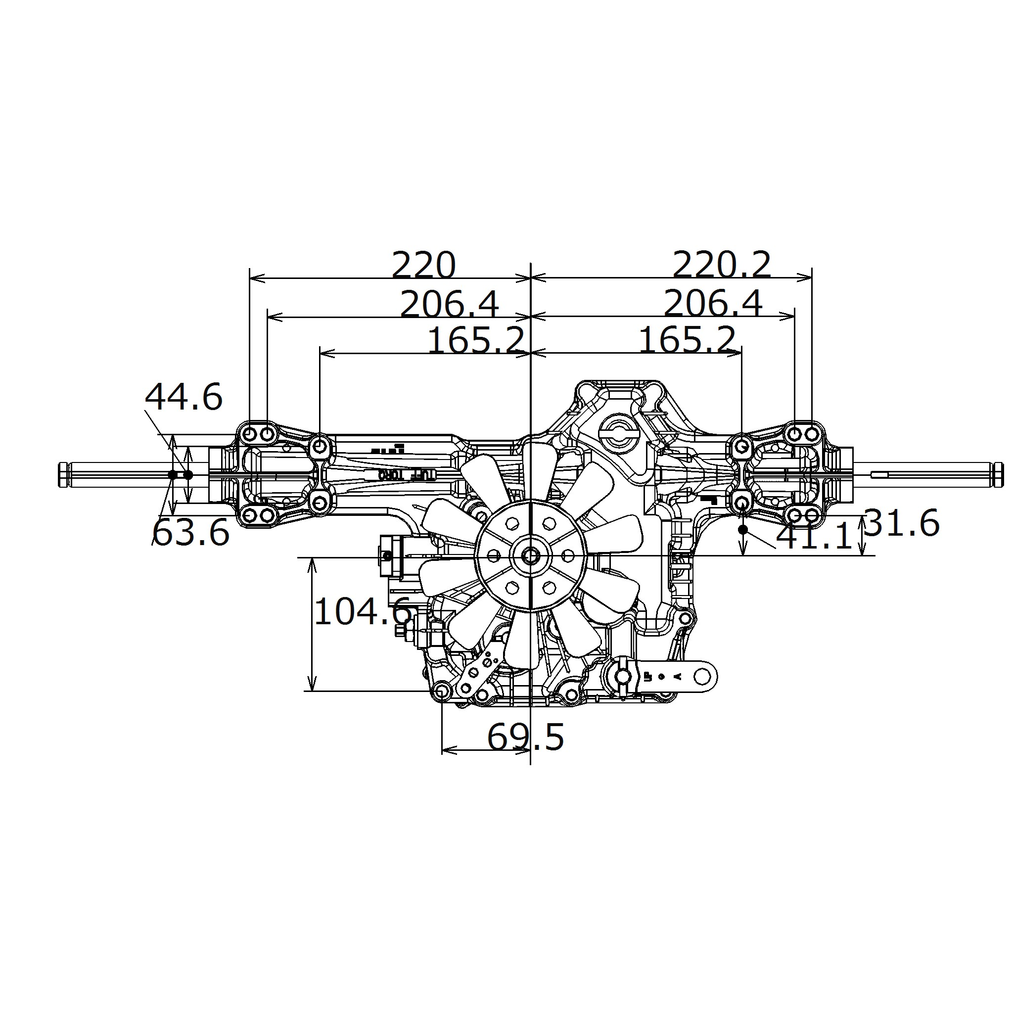 IHT Transaxle K46|Hydraulic Equipments,Transmissions and