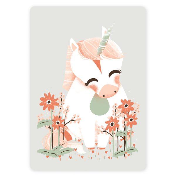 Carte postale bb licorne  Kanzilue  la boutique  Part 1