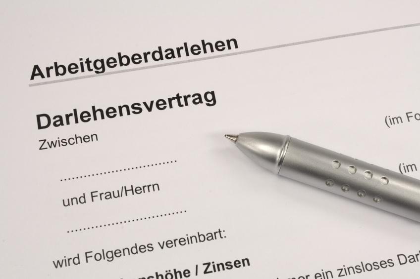 Gehaltserhöhung Zusatz Zum Vertrag : Arbeitgeberdarlehen So Funktioniert Die Finanzielle Hilfe Vom Chef Kanzlei Hasselbach
