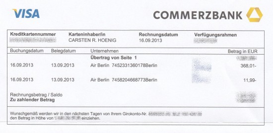 Airberlin Rechnung : billig sitzen bei der air berlin in eigener sache kanzlei hoenig info strafverteidiger in ~ Themetempest.com Abrechnung