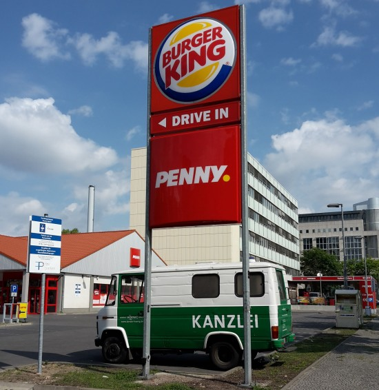 Kundenparkplatz