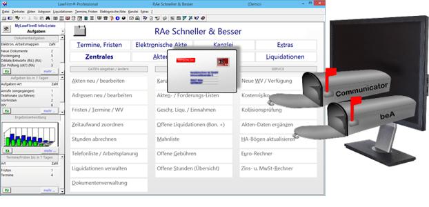 Schritt-für-Schritt-Anleitungen - besonderes elektronisches Anwaltspostfach / beA der BRAK / Bundesrechtsanwaltskammer