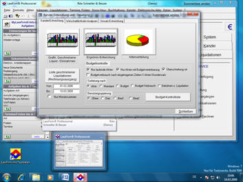 Anwaltssoftware LawFirm unter Windows 7 (schon mit der Beta Version) getestet, auch mit der 64-Bit Version