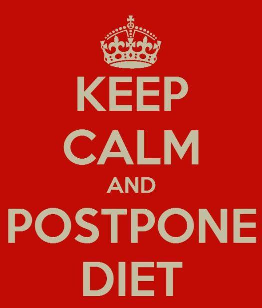 postpone diet