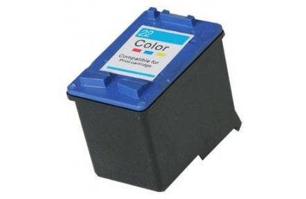 HP C9352 barevná.kompatibilní kazeta č.22 . 17ml . C 9352 .C-9352 - KAPA