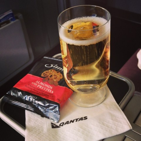 Premium Economy on Qantas - Kapcha The World