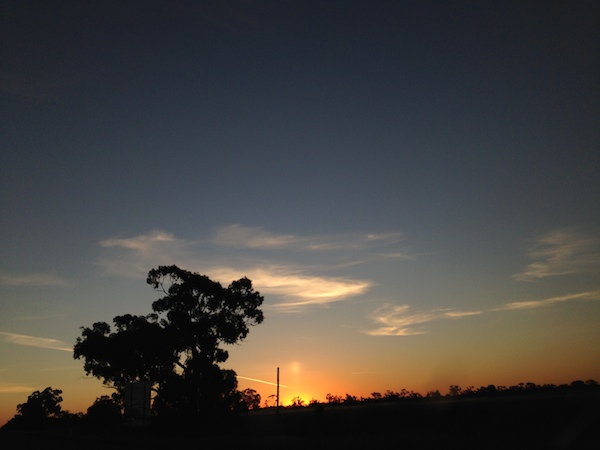 Amazing sunsets in Cobar