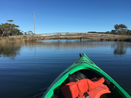 Kayaking on the Anglesea River Great Ocean Road