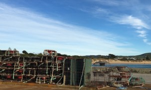 Cray pots in Apollo Bay, Great Ocean Road