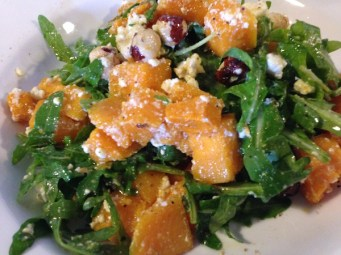 Pumpkin salad, The Agrestic Grocer, Orange Wine Tours