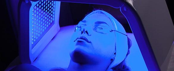 Φωτοθεραπεία Skin ox για τη Ροδόχρου