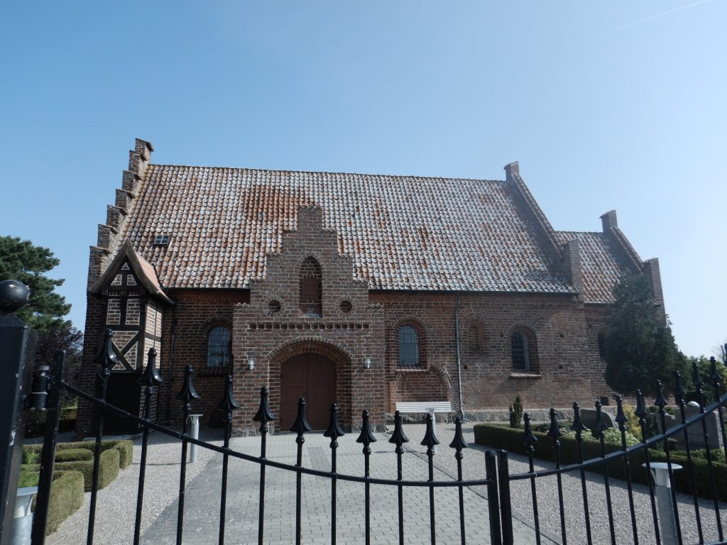 Olstrup Kirke auf Lolland