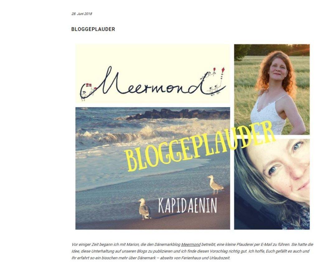 bloggeplauder