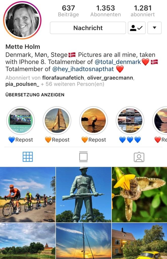 Instagram Mette
