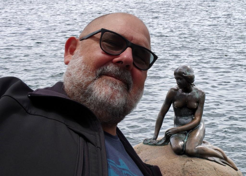 Hans Klueche Selfie Kopenhagen