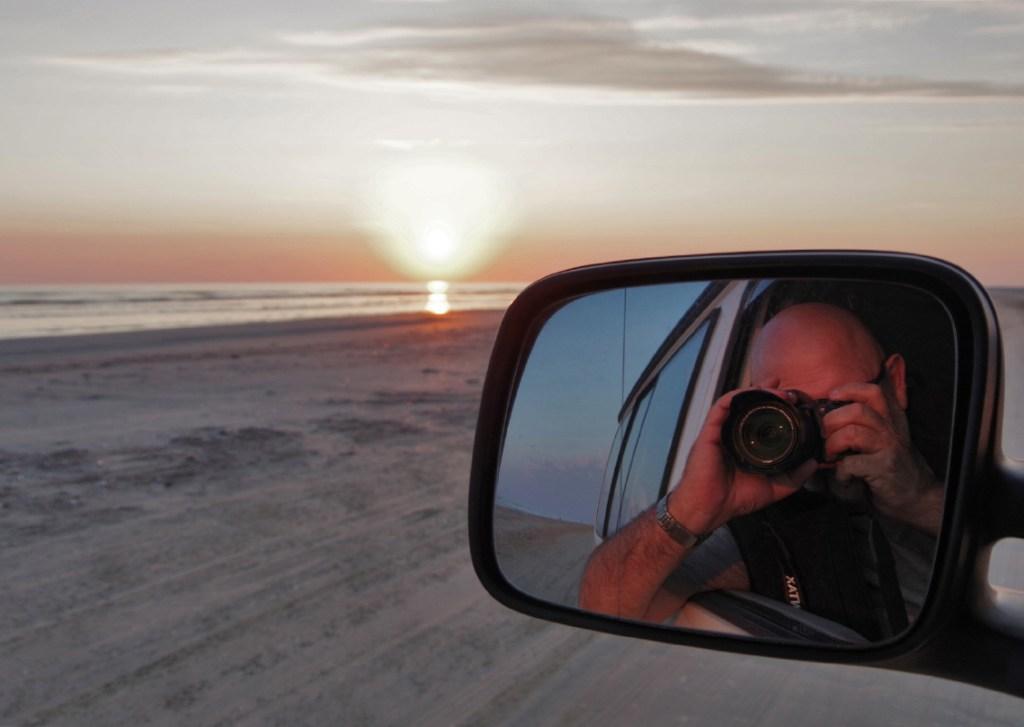Hans Klueche Selfie auf Fanoe Strand_0513_1