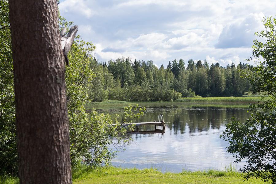 Am Haapajärvi in der Nähe von Kuopio gibt es schöne Ferienhaus-Plätze