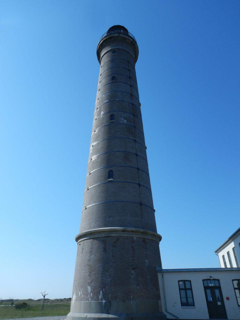 Grå Fyr Skagen ist imposant. Mit seinen 46m Höhe ist er der zweithöchste Leuchtturm Dänemarks