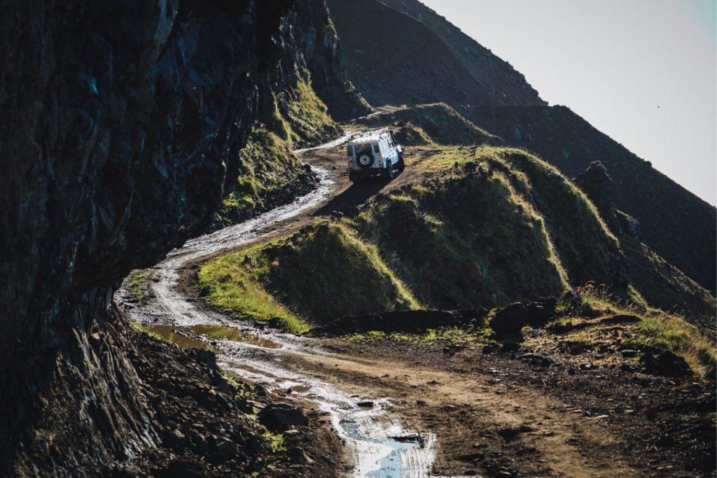 Islands unberührte Natur - Weg durchs Hochland