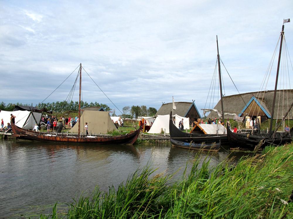 Blick auf den Bork-Vikingehavn