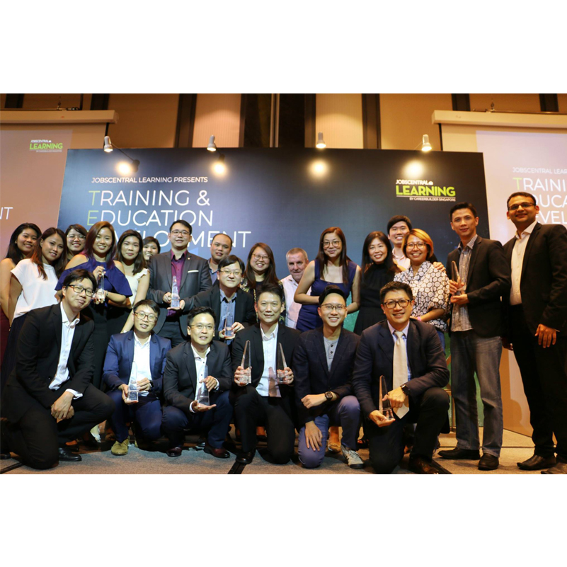 11 wins for Kaplan at the JobsCentral TED Awards 2018! - Singapore