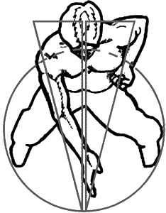Image result for centerline wing chun