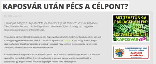 kaposvari_cegszovetseg_pecs_balhe