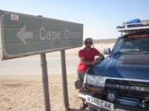 Along the Skeleton Coast