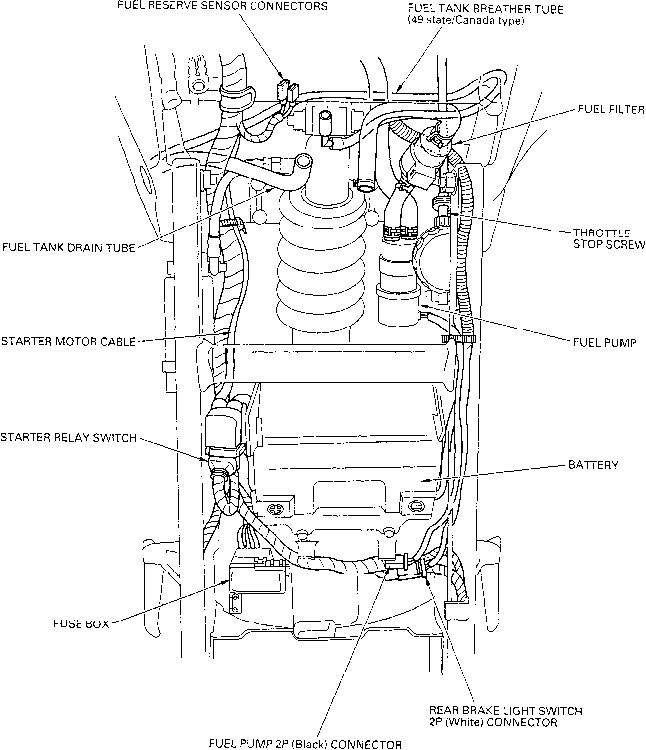 2004 Honda F4i Wiring Diagram. 2004. Electrical Wiring Diagram
