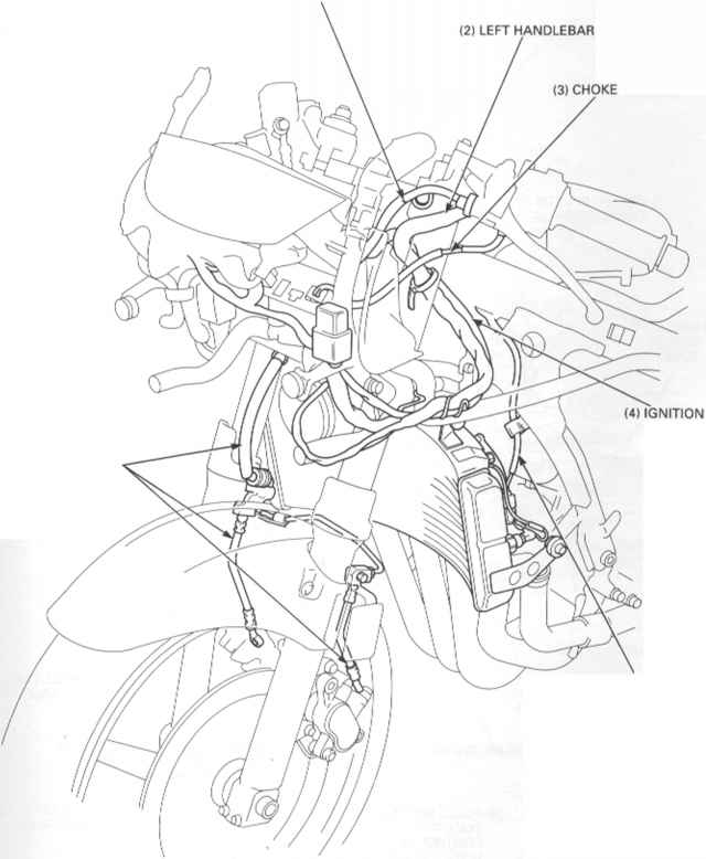 Honda Cbr600f Wiring Diagram Wiring Diagram BMW S1000RR