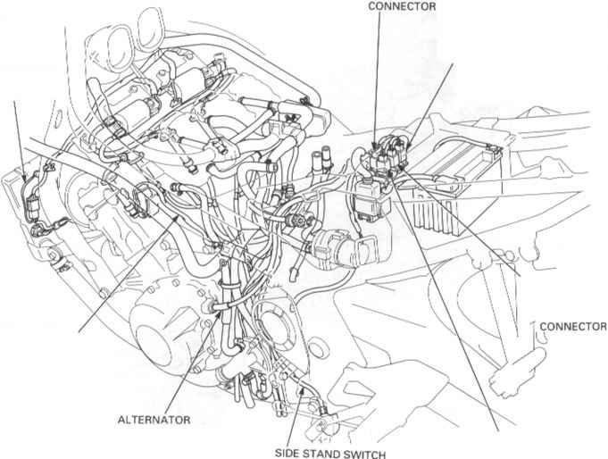 1998 Honda Cbr 600 F3 Wiring Diagram Honda CB 900 Wiring
