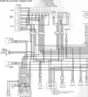 Wiring Diagrams  Honda CBR 600 19951996  Kappa Motorbikes