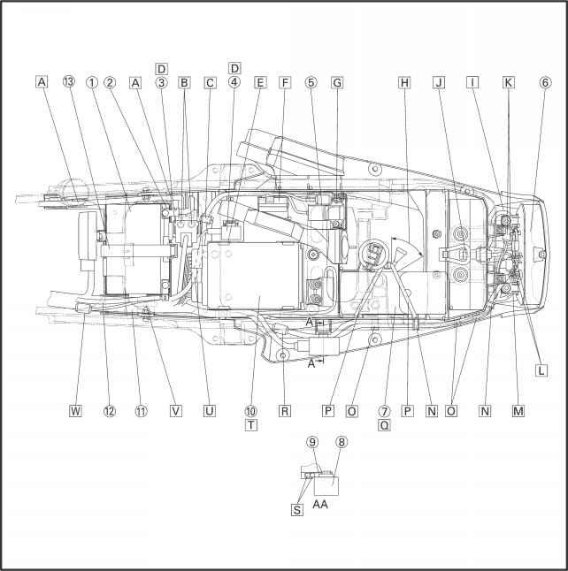 yamaha r6 wiring harness install