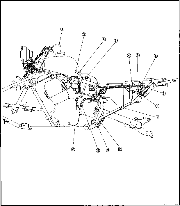 Wiring Diagram 1989 Xt600 Friendship Bracelet Diagrams