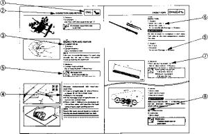 Exploded Diagrams  Yamaha Warrior YFM 350  Kappa Motorbikes