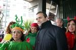 Il Sindaco De Magistris al Carnevale di Scampia