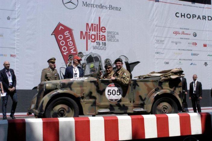 1000 MIGLIA 2014: BRILLANTE PRESTAZIONE PER L'ESERCITO ITALIANO